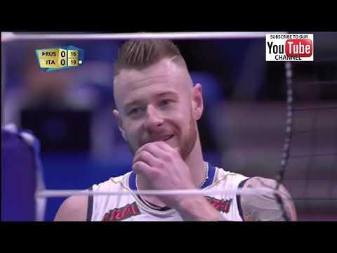 Italy Vs Russia Men World Championship 2018 Second Round- Full Match Highlights - HD