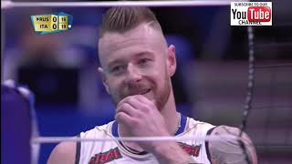 Italy vs Russia Men World Championship 2018 Second Round- Full Match Highlights - HD
