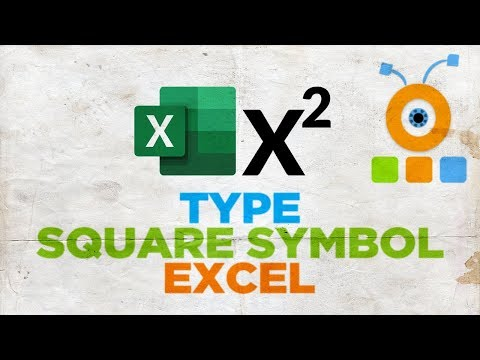 How To Type A Square Symbol In Excel For Mac | Microsoft Office For MacOS