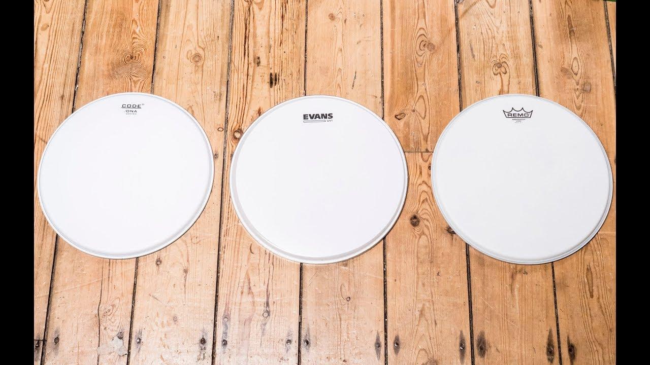drummer 39 s review snare drum head comparison youtube. Black Bedroom Furniture Sets. Home Design Ideas
