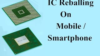 How to Reball Mobile IC (Dead phone)