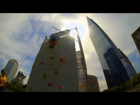 climbing pareti mobili arrampicata napoli centro direzionale
