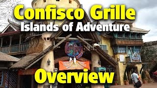 Confisco Grille Overview | Islands of Adventure