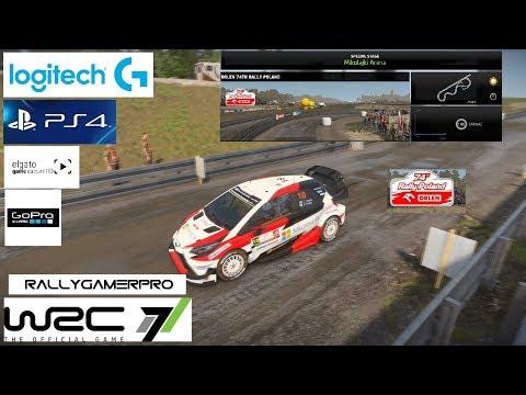 WRC 7 - Super Special Poland - Toyota Yaris WRC - Logitech G29 & PS4