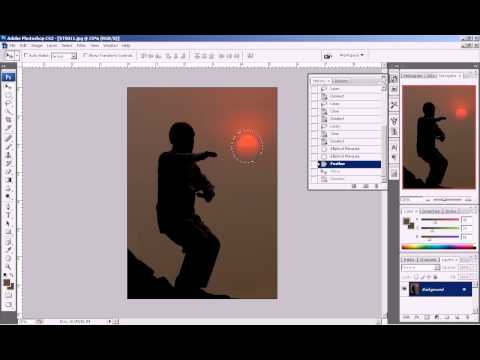 Photoshop CS3 - Phan 1 - Bai 5 - Tac pham dau tay voi 3 chieu