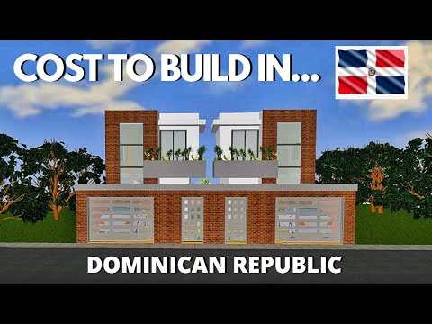 Cost Of Building A House In Dominican Republic | Real Estate Dominican Republic