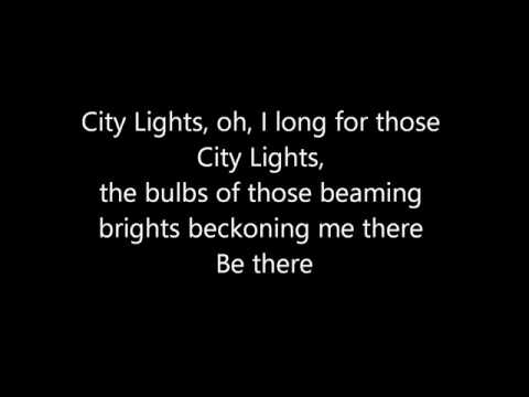 Liza Minnelli - City Lights (Lyrics)
