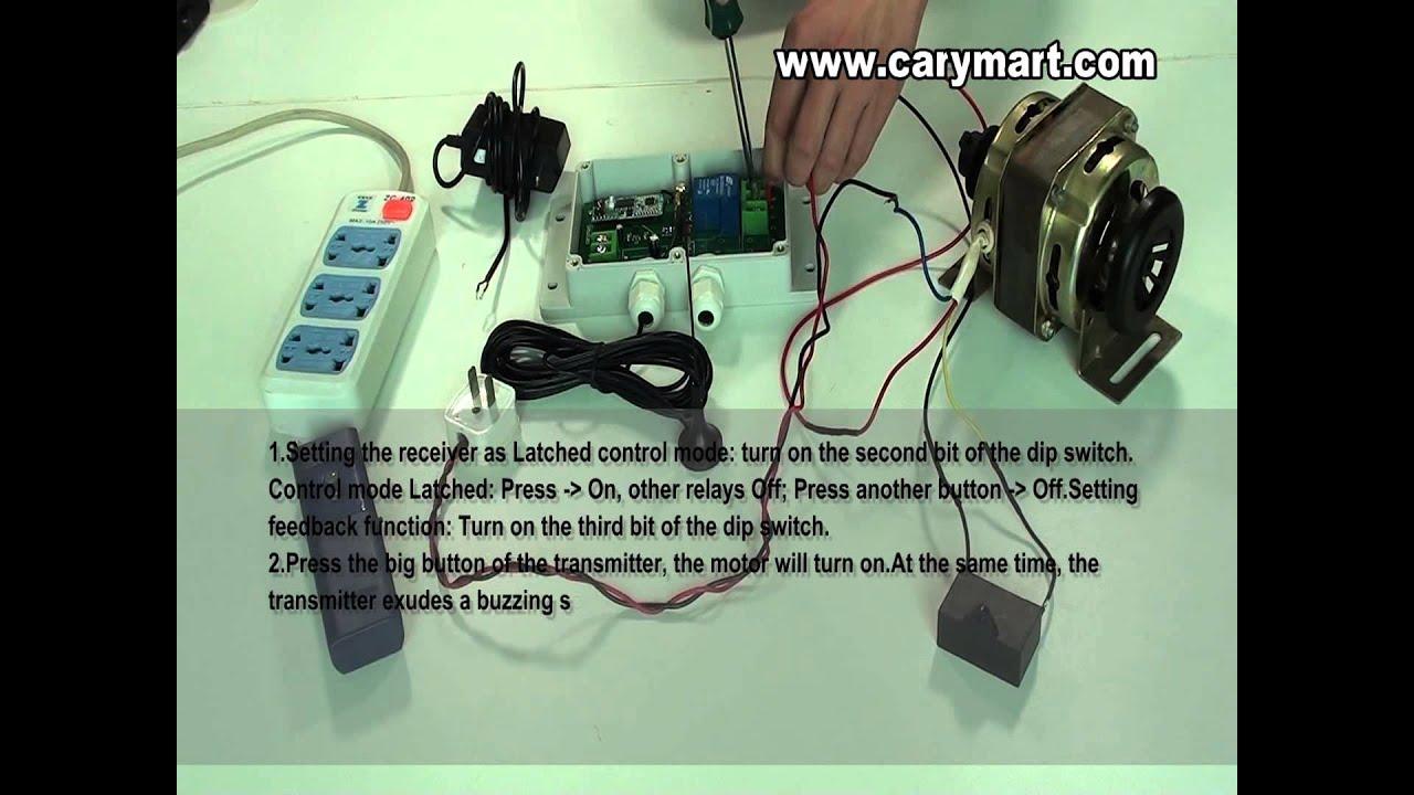 Carymarts New Product Two Way Long Range Remote Control Ac 220v Motor Wiring