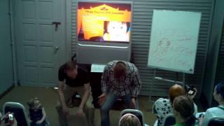 Squatty potty training