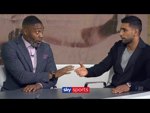 """The British public will NEVER forgive you if you don't take the Kell Brook fight!"" Amir Khan  T2T"