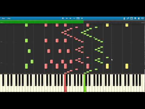 Fury Of The Storm DragonForce ~ Synthesia