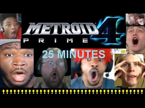 25 Minutes of Insane Metroid Prime 4 Reaction Freakouts