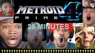 25 Minutes of Insane Metroid Prime 4 Reaction Freakouts