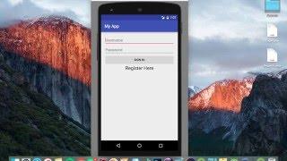 Android Studio Tutorial - NEW Login Register #1 - UI Design