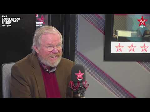 Bill Bryson on The Chris Evans Breakfast Show with Sky