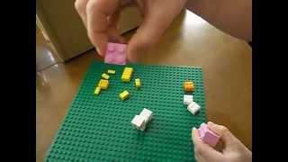 How to Build a LEGO Minecraft Ocelot, Sheep, Pig and Snow Golem