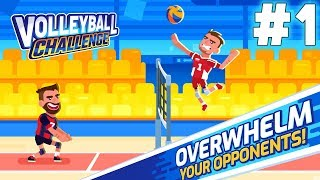 Volleyball Challenge Gameplay #1 (ANDROID)