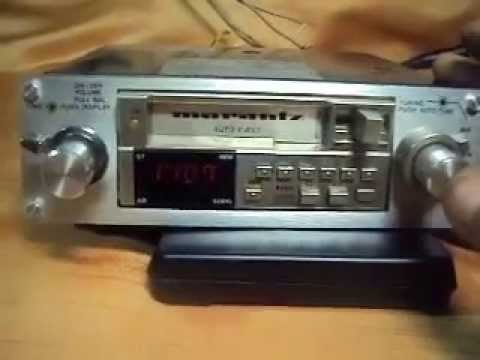 Marantz Car 4120 Vintage Car Stereo Youtube