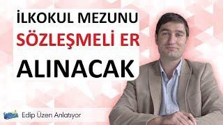 MSB 2018 Yılı Sözleşmeli Er alımı. 26.09.2018