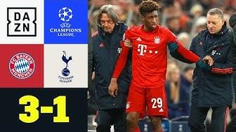 Coman-Verletzung trübt perfekte Gruppenphase: Bayern - Tottenham 3:1 | UEFA Champions League | DAZN