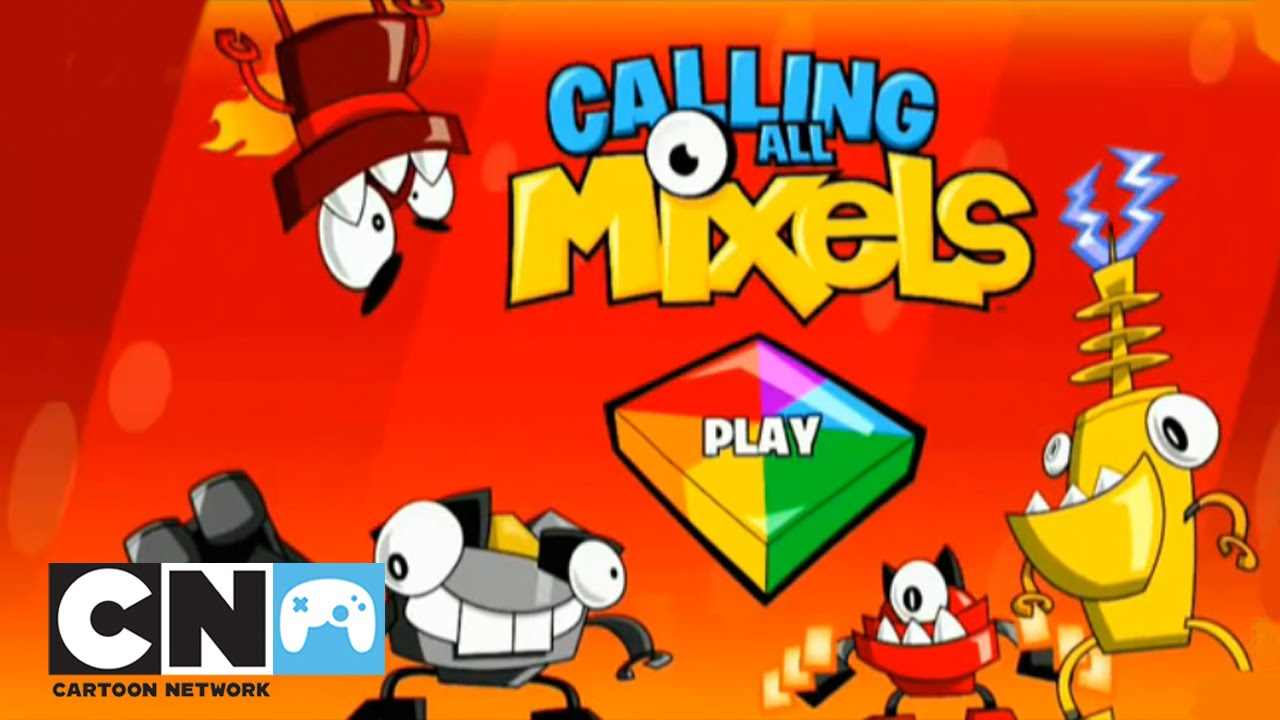 Calling All Mixels Aplikacja Mobilna Cartoon Network Youtube