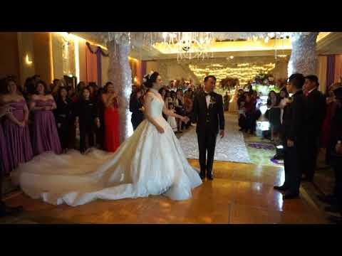 Eric & Loly Wedding Dance Clip | JS LUWANSA JAKARTA | Dancefirst Indonesia