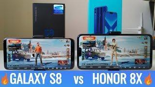 Prueba de Rendimiento Samsung Galaxy S8 vs Honor 8x