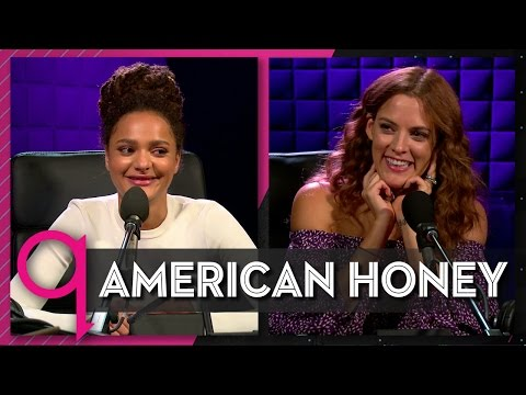American Honey's Sasha Lane & Riley Keough