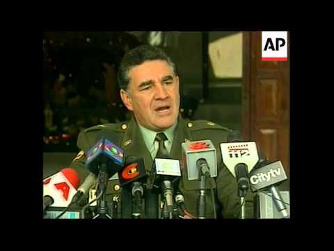 COLOMBIA:  CALI DRUGS CARTEL - FRONT MAN DETAINED