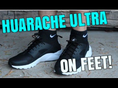 d8a12c99208 Nike Air Huarache Ultra ON FEET! - YouTube
