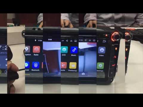 """Erisin ES5511V 8"""" Android 5.1 Car GPS DVD Radio DAB+ 3G WiFi TV"""