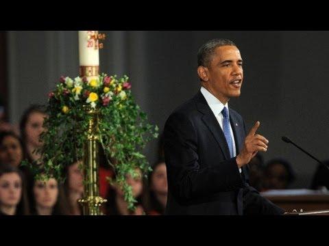 Raw video: Obama