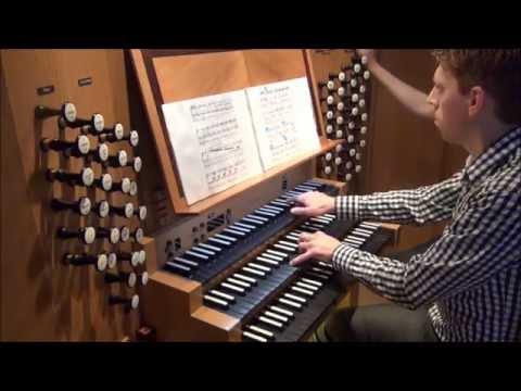 Toccata from Opus 59, Max Reger (Klais organ, Recklinghausen)