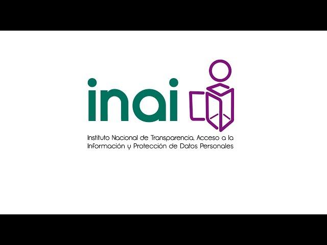 #INAIalMomento Micrositios INAI  Comisionado OMGF