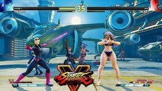 Street Fighter V AE Chun Li vs Falke PC Mod