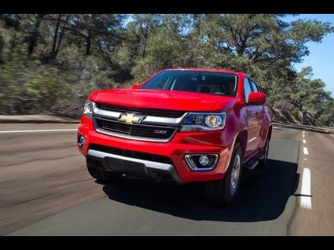 2016 Chevrolet Colorado Z71 Start Up And Review 3.6 L V6
