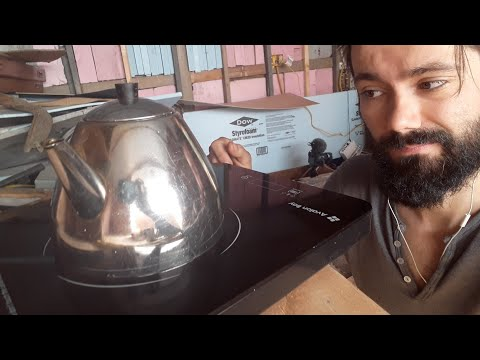 Cooking With Electricity Off-Grid (Avalon Bay's Portable Induction Cooktop) - Sink or Swim 66