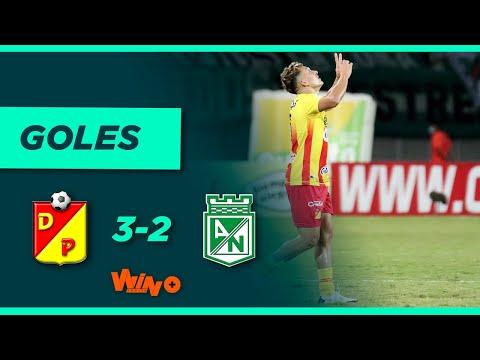 Pereira vs. Nacional (3-2) Liga BetPlay Dimayor 2021-2 | Fecha 12