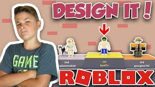 HOW TO WIN in ROBLOX DESIGN IT ! | WINNING LIKE A BOSS | FIRST PLACE TWICE