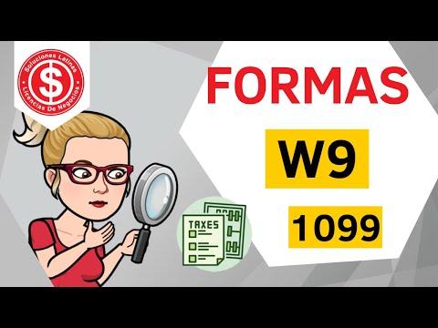 Formas W 9 y 1099