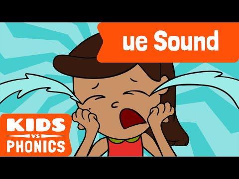 ue | Fun Phonics | How to Read | Made by Kids vs Phonics