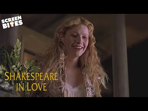 Shakespeare In Love: Romeo (Joseph Fiennes) and Juliet (Gwyneth Paltrow) Balcony Scene
