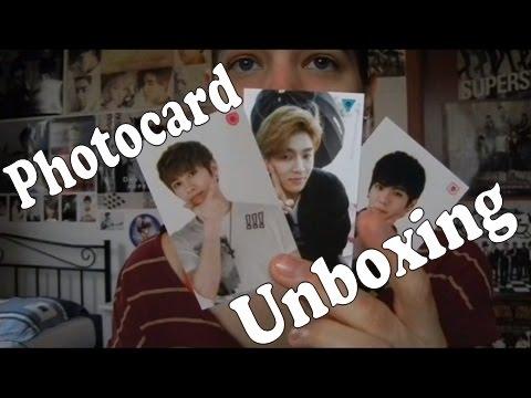 Unboxing - Welcome to Madtown photocards - Daewon, Jota & Heojun