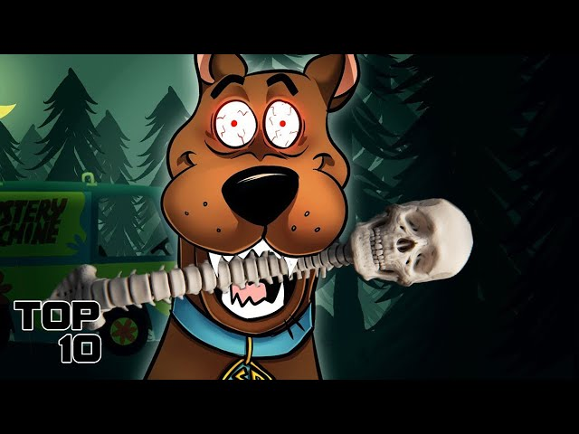 Top 10 Scary Scooby Doo Urban Legends - Part 2