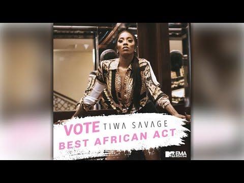 Vote Tiwa Savage Best African Act ( Link In Description )