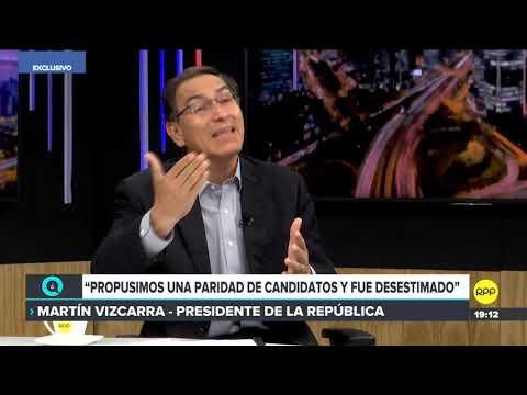 #QTLR   Presidente Martín Vizcarra sobre la bicameralidad
