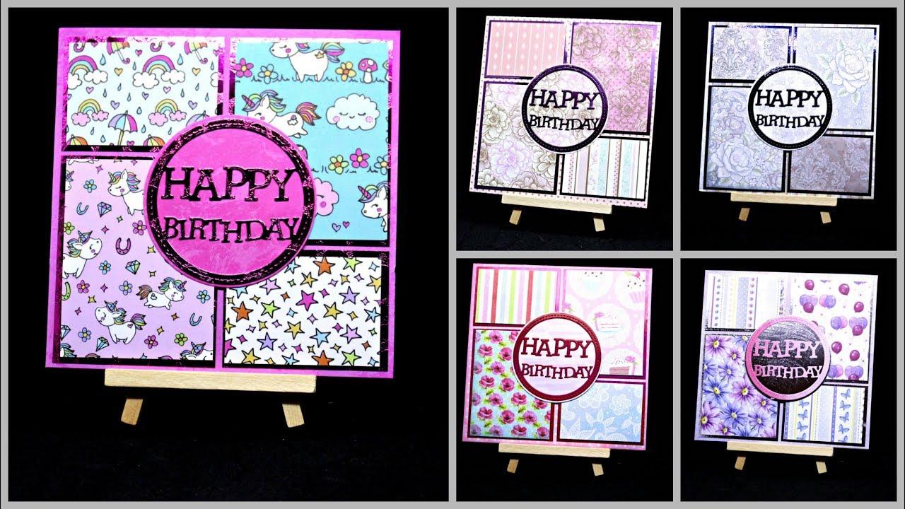 Karten basteln f r geburtstag mit papier diy ideen for Geschenk fa r onkel basteln