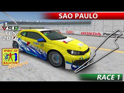 VSR Touring Car Series 2016 @ Sao Paulo [Race1] - Akos Kun