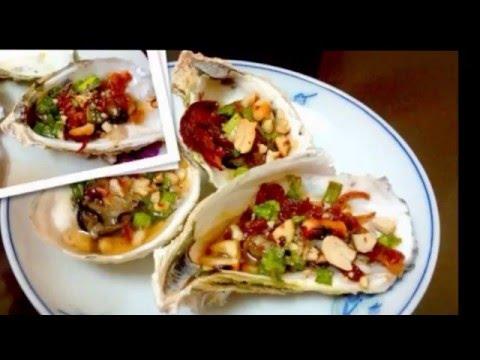 Hướng dẫn nấu ăn số 12: Hàu nướng mỡ hành (grilled oyster with green onion)