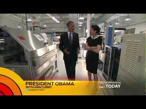 TODAY Exclusive: Ann Curry s President Barack Obama
